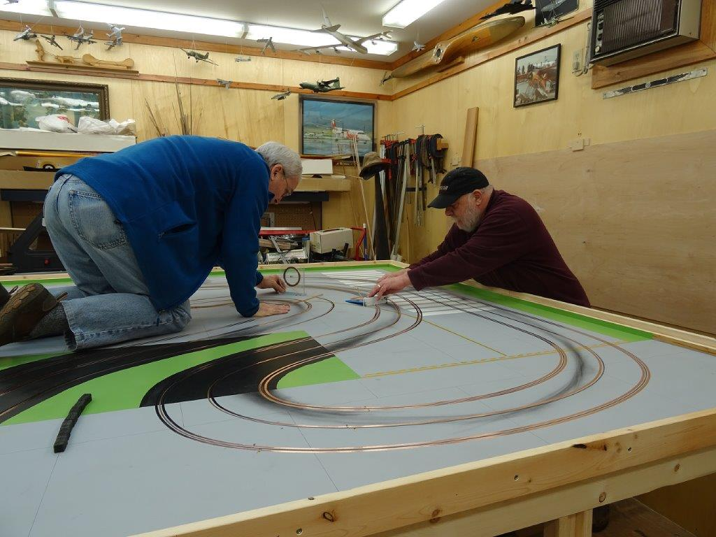 new track for our club slot car illustrated forum Slot Car Racing Track Plans Slot Car Track Plans